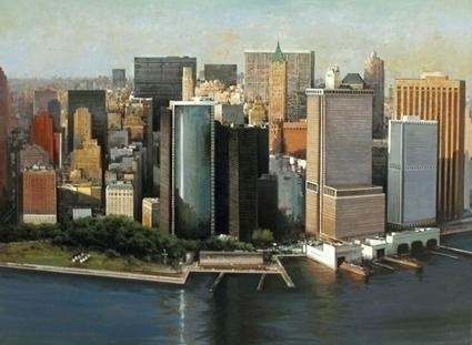 Manhattan 81x100 cm. oil canvas - josehiguera | ello