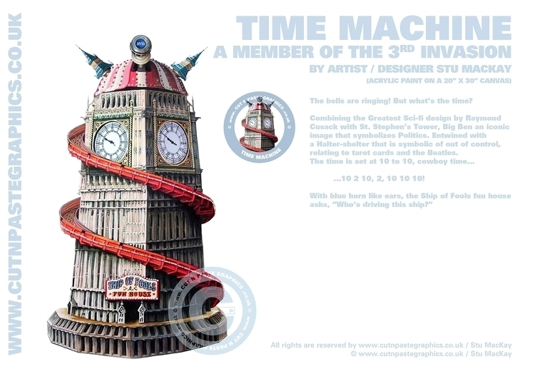 TIME MACHINE scenes information - stu-4310 | ello