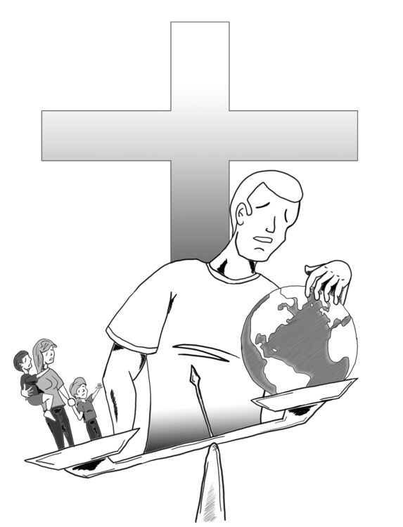 Poster Illustration Church Play - jbaumjr | ello