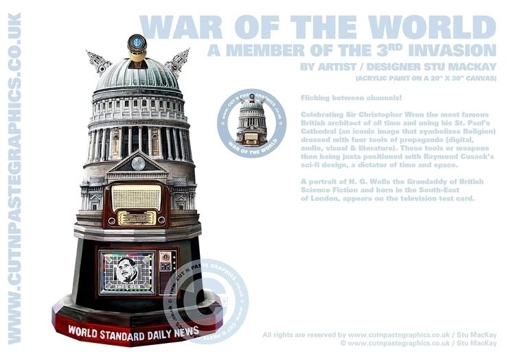 WAR WORLD scenes information - painting - stu-4310 | ello