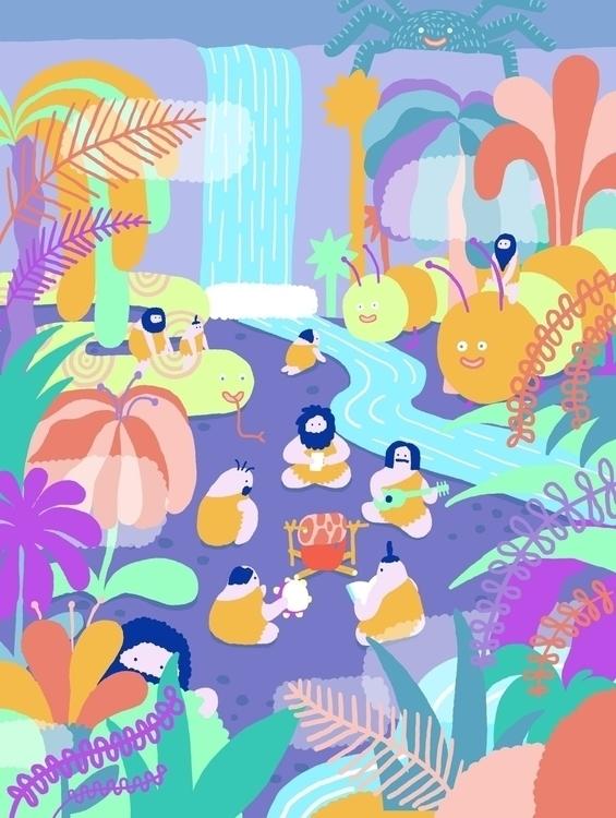 digitalillustration, art - vincycheung | ello