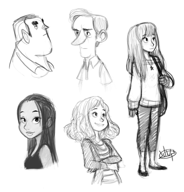 Sketches today! hope - luigil-2352 | ello