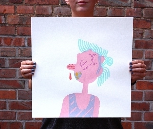 Screen prints serie spring 2014 - alvarosamaniego | ello