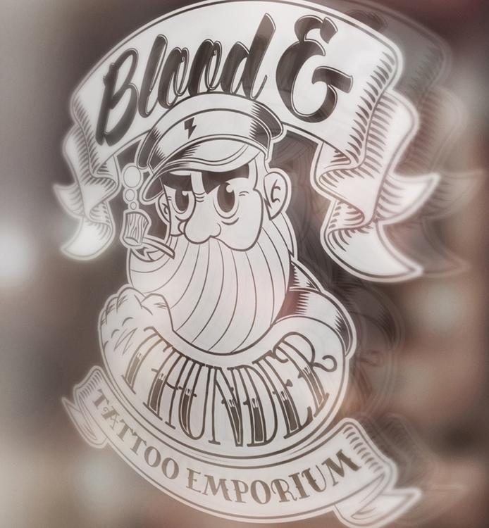 Blood Thunder Tattoo Emporium b - scotty-6923 | ello
