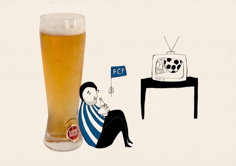 Taste Porto- Superbock - illustration - msarte | ello