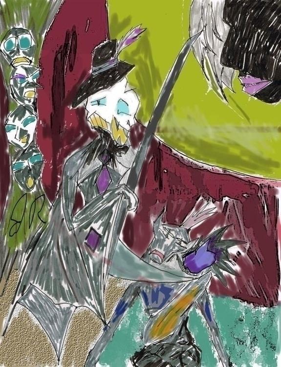 Dressed Kill - illustration, drawing - janoryusaru   ello