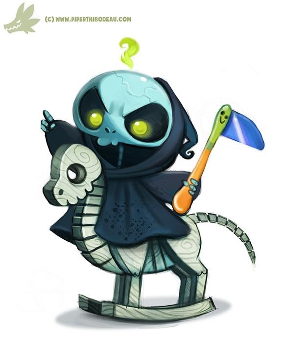 Daily Paint Baby Reaper (OG - 977. - piperthibodeau | ello