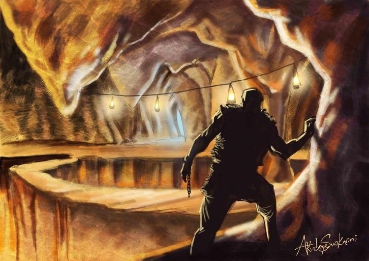 Freedom - illustration, painting - woody-2265   ello