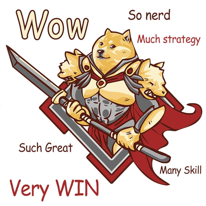 RPG Doge - graphicdesign, meme, doge - hotsprocket | ello