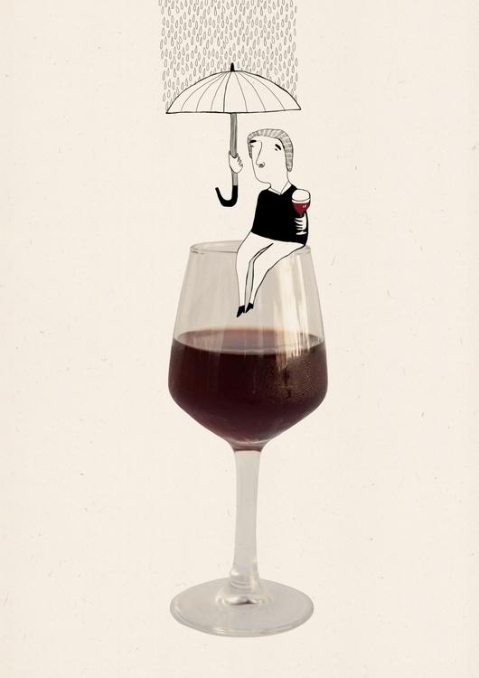 Taste Porto- Vinho Porto - illustration - msarte | ello