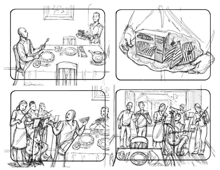 Hot Pockets-7 - storyboard, illustration - doritart | ello