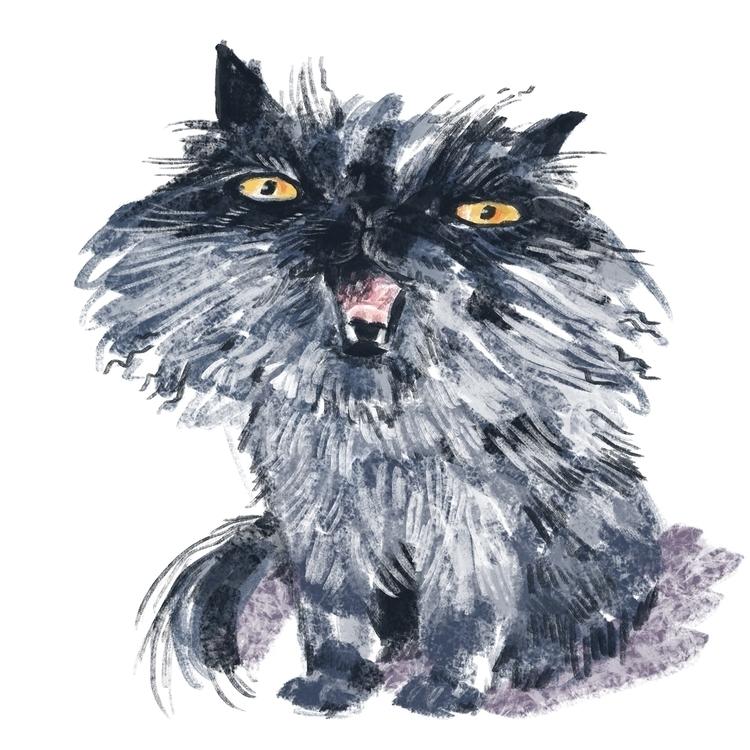 Kitty cat - digitalart, characterdesign - prianikn   ello