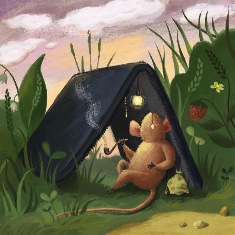 traveller - illustration, children'sillustration - prianikn   ello