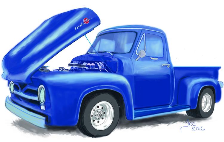 truck, conceptart, illustration - thomasechapman | ello