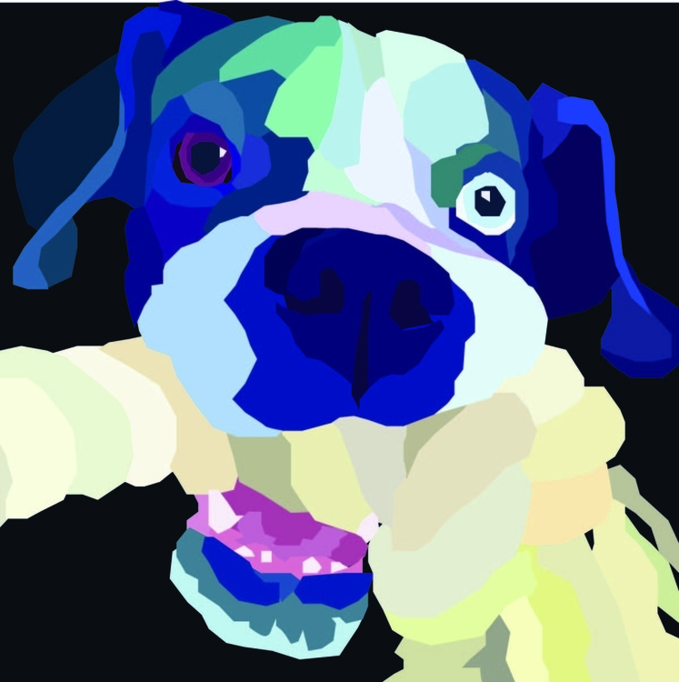 dog favorite toy - puppy, vector - jenniferproffitt   ello
