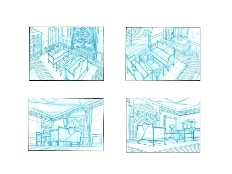 Room Study - environment, conceptart - anndorphin | ello
