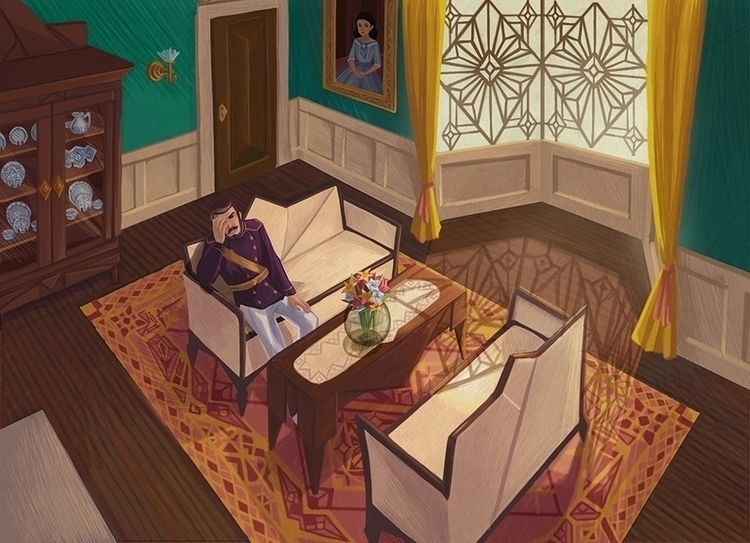 Room Study Colored - environment - anndorphin | ello