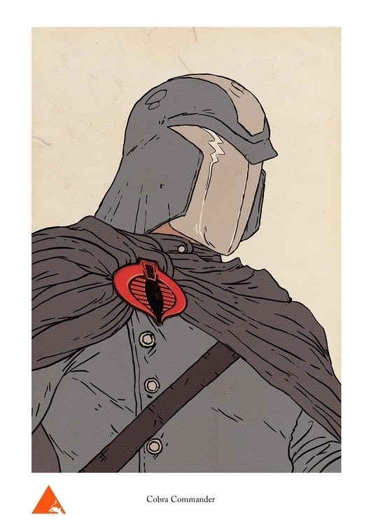Cobra Commander - wyshcreative | ello