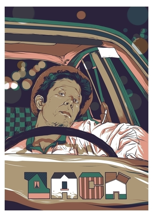 poster movie LAW - reeo, illustration - reeozerkos | ello