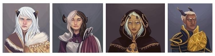 Character Designs - characterdesign - anndorphin | ello