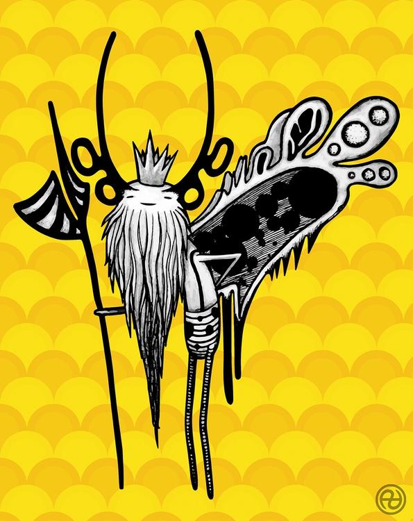 Grumper King forest fairies - characterdesign - paralleldimensions | ello