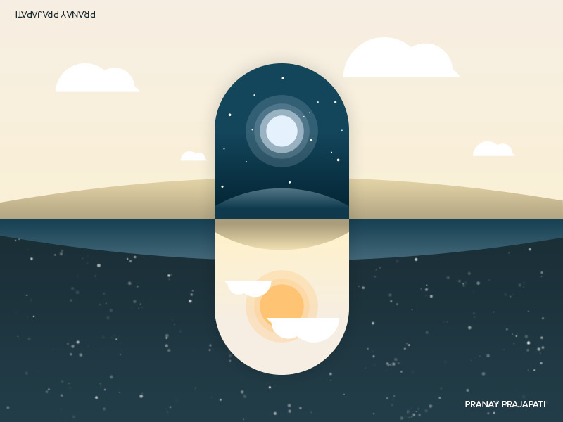 Upside - World - illustration, graphicdesign - pranayprajapati-7420 | ello