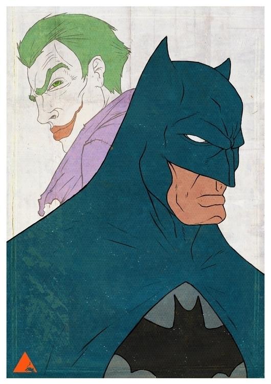 Batman Joker - wyshcreative | ello
