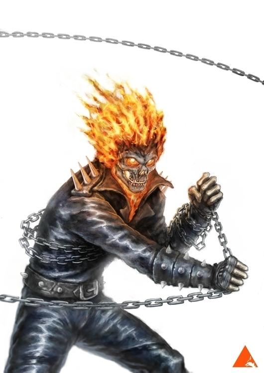 Ghost Rider - wyshcreative | ello