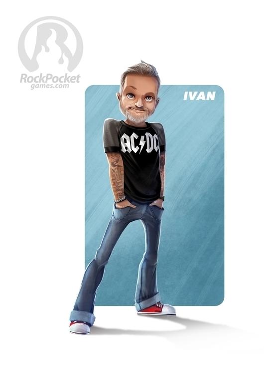 Rockpocket characters - 1-Ivan, illustration - tombino | ello