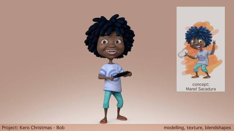 Bob- Character worked Kero Chri - rubenmartins | ello