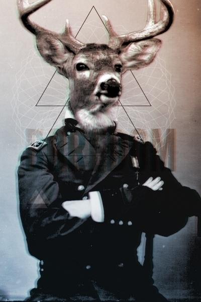 stag, illustration, digitalart - omniscientbeing | ello