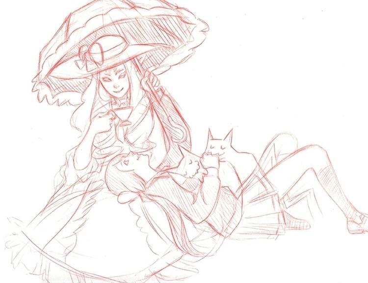 Kyousougiga fanart - illustration - anndorphin | ello