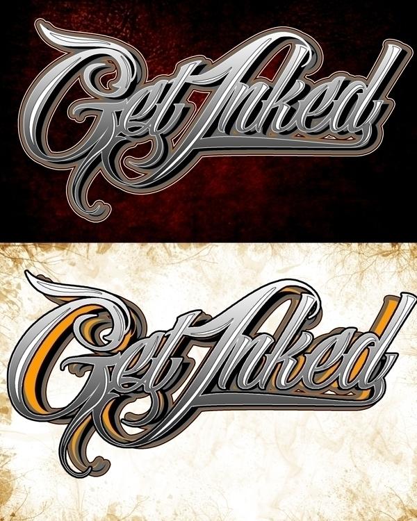 INK TATTOO SHOP - typography, mattdesign - mattaguinaldo | ello