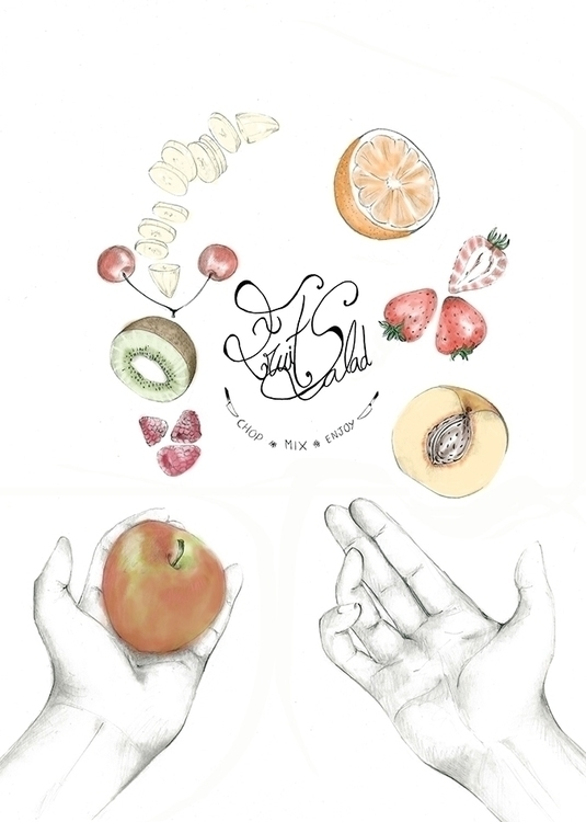 Happy Cooking - 2015 - illustration - mendesana03 | ello
