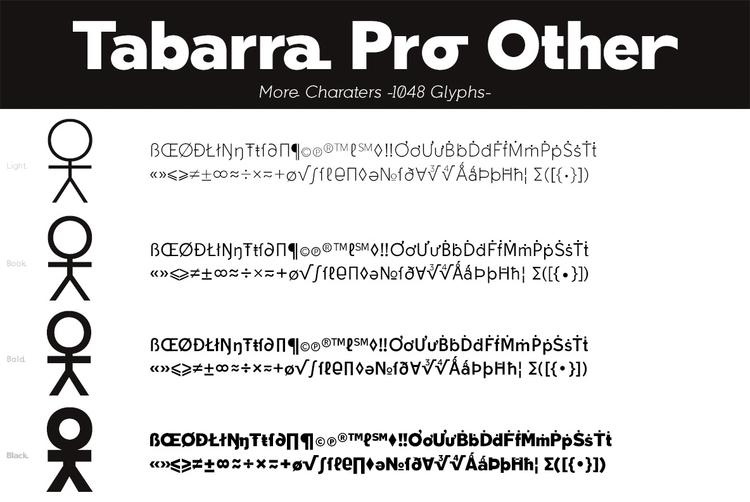 Tabarra Pro - typography - defharo | ello