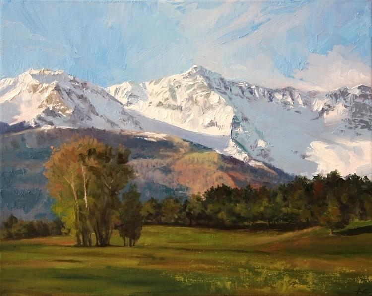 Colorado Landscape - painting, landscape - andrewcherry | ello