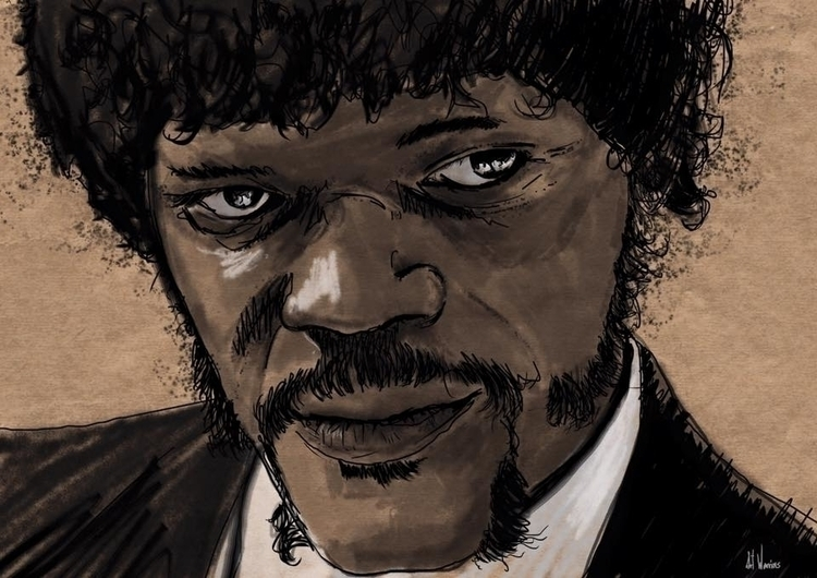 Jules WInfield - pulpfiction - theartwarriors | ello