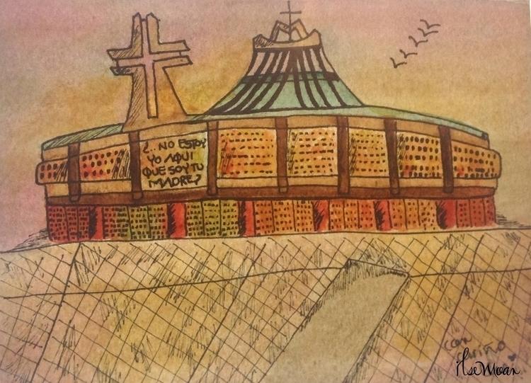 LA VILLA - illustration, painting - ilsemoar   ello
