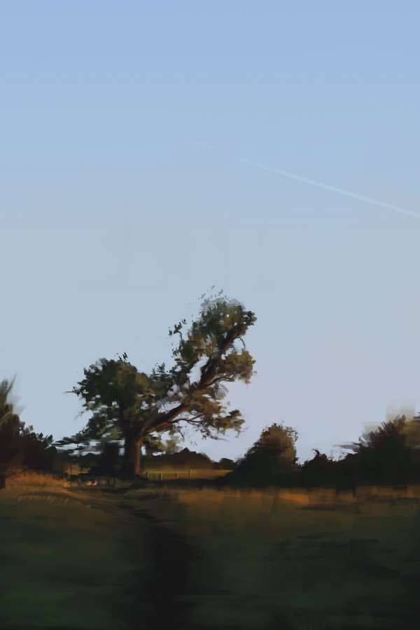 summer, landscape, digitalpainting - nickadrian | ello