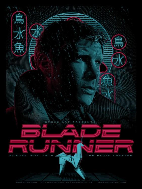 Blade Runner Screening Poster - bladerunner - tracieching | ello