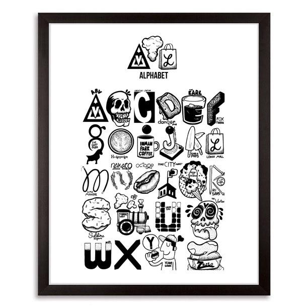 ATL Alphabet 2017 - art, artist - johnnydraco | ello