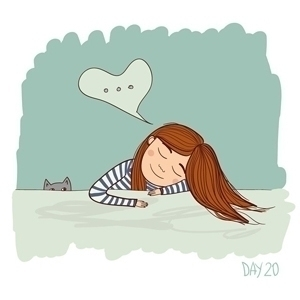 illustrations 30 days illustrat - yuliia_bahniuk | ello