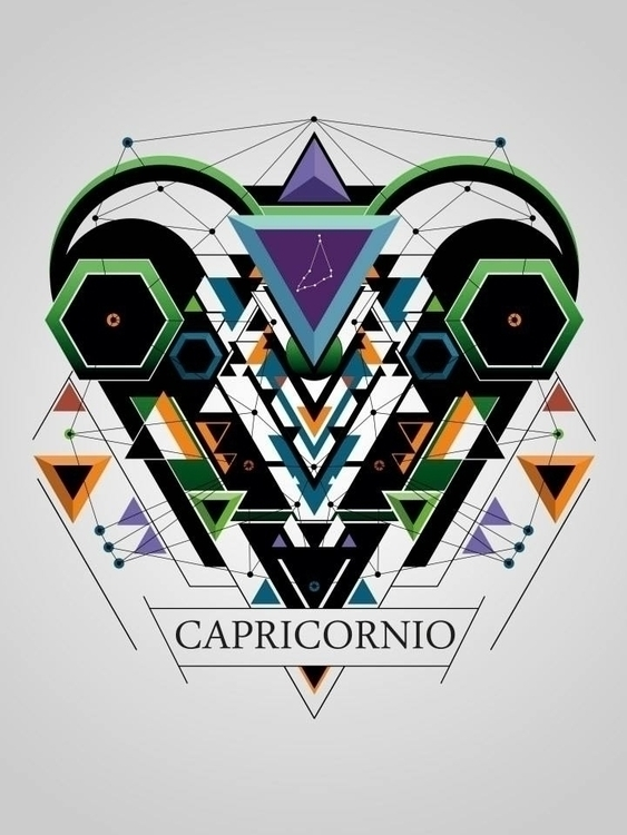 capricornio - illustration, characterdesign - juanco-1165 | ello