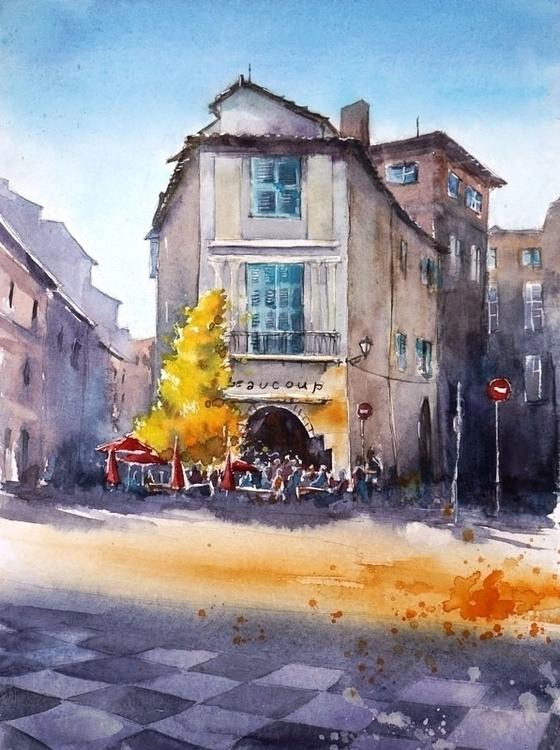 Toulouse, France - illustration - kamieshkova | ello