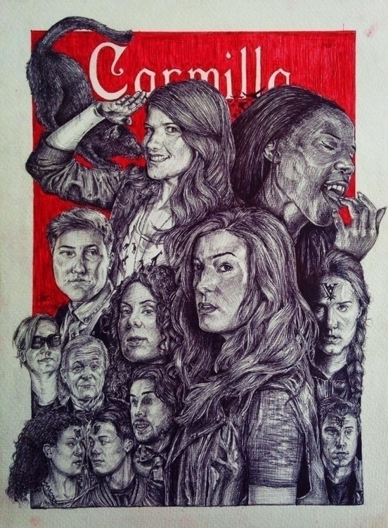 Carmilla webseries - drawing, illustration - tututmo | ello