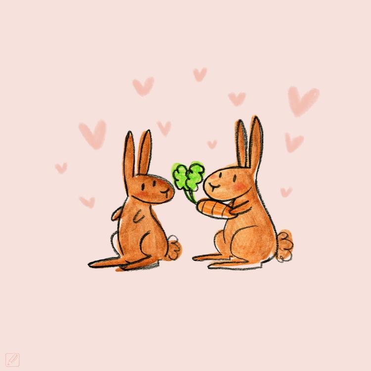 illustration, love, valentinesday - pencilboxillustration | ello