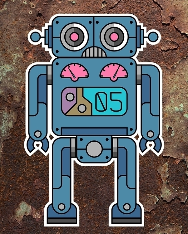 robots - characterdesign, illustration - ans-9428 | ello