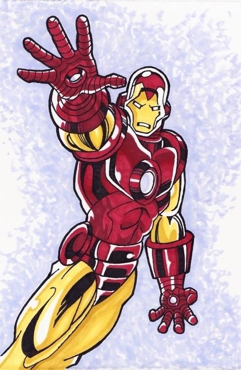 Iron Man - Ironman, Avengers, Marvel - justinoden | ello
