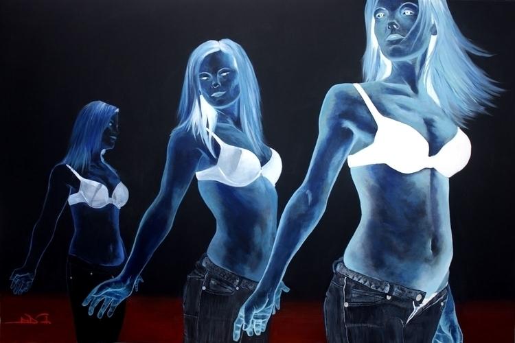 Bubbalicious - painting - elasticcanvas | ello