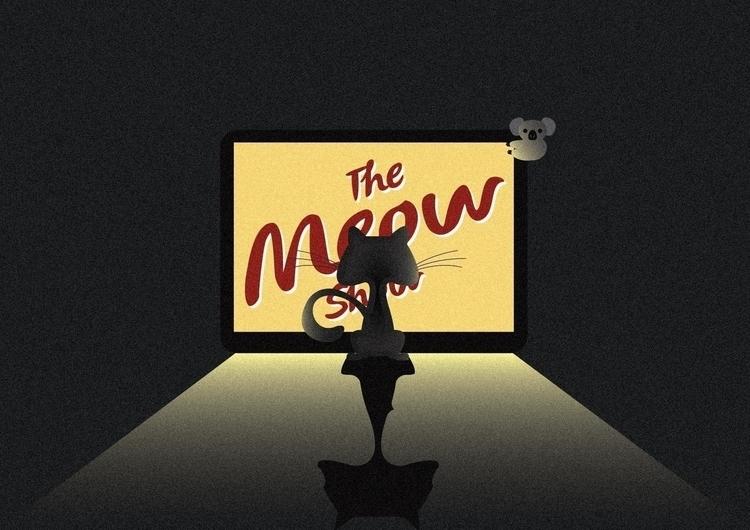 meow show - illustration, vector - dnscr | ello